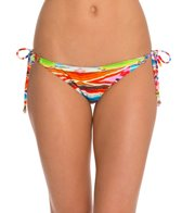 Raisins Tribal Wave Cheeky Stringer Bikini Bottom