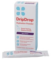 Drip Drop Electrolyte Hydration Powder (4 Pack, 21g)