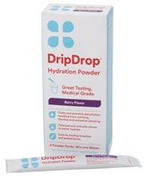 Drip Drop Electrolyte Hydration Powder (8 Pack, 10g)