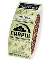 Chapul Cricket Energy Bar -Thai (Single)