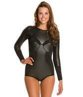 FOX Burner L/S Swim Skin One Piece Swimsuit