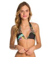 Stone Fox Swim Black Ginger Natasha Strappy Triangle Bikini Top