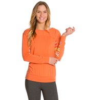 Cozy Orange Starling LS Yoga Shirt