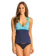 Nautica H2O Active Hold the Line Soft Cup Tankini Top