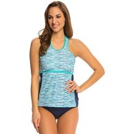Nautica H2O Active Hold the Line Soft Cup Racerback Tankini