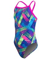 Waterpro Neon Youth One Piece Swimsuit