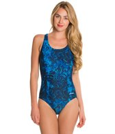 Waterpro Majestic Fit-Back Fitness One Piece Swimsuit