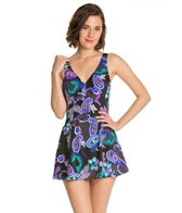 Maxine Paisley Swirl Empire Swimdress
