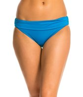 Kenneth Cole Strappy Hour Solid Sash Hipster Bikini Bottom