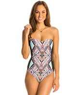Kenneth Cole Placement To Be Beandeau Mio One Piece Swimsuit