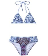 O'Neill Girls' Samba Ruffle Tri Set (7yrs-14yrs)