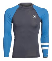 Hurley Men's Icon Long Sleeve Rashguard