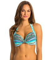 Kenneth Cole Reaction Beach Please Underwire D Cup Bikini Top