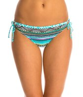 Kenneth Cole Reaction Beach Please Tie Side Adjustable Bikini Bottom