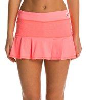 Trina Turk Racquet Club Jacquard Tennis Skirt