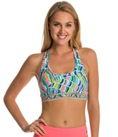 Trina Turk Scallop Shell T-Back Sports Bra
