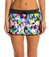 Trina Turk Kaleidoscope Running Shorts