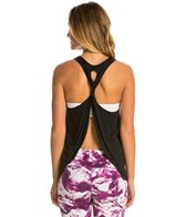 Trina Turk Spring Draped Twist Back Tank Top