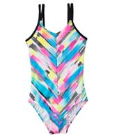 Gossip Girl Rainbow Checkers One Piece (7yrs-16yrs)