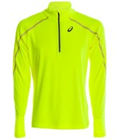 Asics Men's Lite-Show Long Sleeve 1/2 Zip Pullover