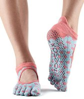 Toesox Bellarina Full-Toe Yoga Grip Socks
