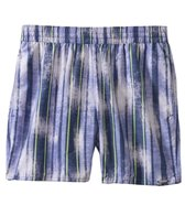 Sauvage Italia Drawstring Stripe Swim Short