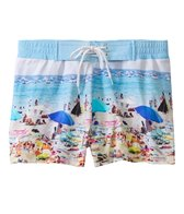 Sauvage Miami Collection Key West Print Tie Boardshort