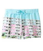 Sauvage Miami Collection South Beach Print Tie Boardshort