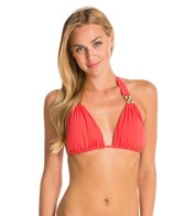 Sauvage Rosa D'Oro  Rose Gold Halter Top (D Cup)