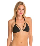 Sauvage Diva Strappy Triangle Gold Slider Top
