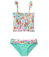 Raisins Girls' In Full Flower Summer Lovin' Tankini Set (4yrs-6X)