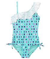 Raisins Girls' Always Lookin' Up Half Moon Ruffle One Piece (4yrs-6X)