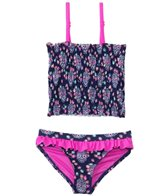 Raisins Girls' Spin Into Sugar Summer Lovin' Tankini Set (4yrs-6X)