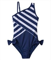 DKNY Girls' Little Perks Lovely Jubbly One Shoulder One Piece (6yrs)