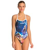HARDCORESPORT Women's Intergalactic X-Back One Piece Swimsuit