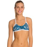 HARDCORESPORT Women's Blue Jules Element Swimsuit Top