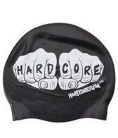 HARDCORESPORT Knuckles Swim Silicone Swim Cap