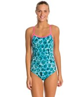 HARDCORESPORT Women's Mermaid Cali Back One Piece Swimsuit