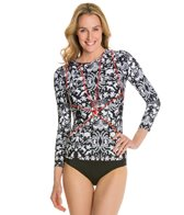 Cynthia Rowley Wildlife Longsleeve Rash Guard