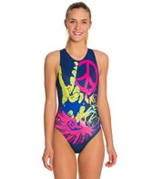 HARDCORESPORT Women's Peace Water Polo One Piece Swimsuit