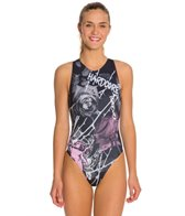 HARDCORESPORT Women's Thorns Water Polo One Piece Swimsuit