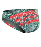 HARDCORESPORT Men's Annuit Ceoptis Water Polo Brief
