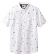 Reef Men's Skipadot Short Sleeve Shirt