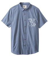 Reef Men's Barbadozer Short Sleeve Shirt