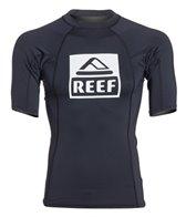Reef Men's Logo 4 S/S Rashguard