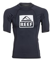 Reef Men's Logo 4 Short Sleeve Rashguard