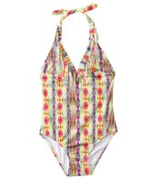 PilyQ Girls' Sunbeam Fringe One Piece (2T-4T)