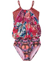 Maaji Girls' Atomic Blossom Tankini One Piece (2T-4T)