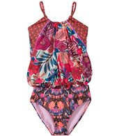 Maaji Girls' Atomic Blossom Tankini One Piece (8yrs-16yrs)