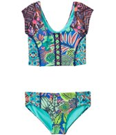 Maaji Girls' Fairy Fairmoss Tankini Two Piece Set (2T-4T)